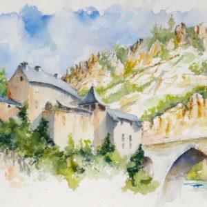 Le pont de Sainte Éinimie